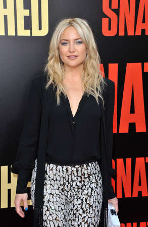 snatched: Kate Hudson at the Los Angeles premiere of Snatched held at the Regency Village Theatre in Westwood, USA on May 10, 2017.