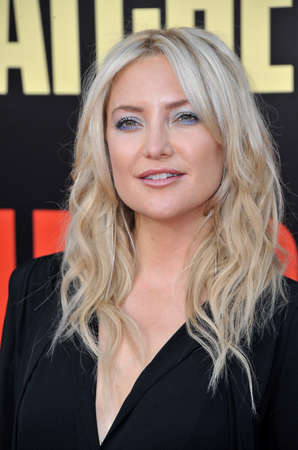Kate Hudson at the Los Angeles premiere of 'Snatched' held at the Regency Village Theatre in Westwood, USA on May 10, 2017. Stock Photo - 78122866