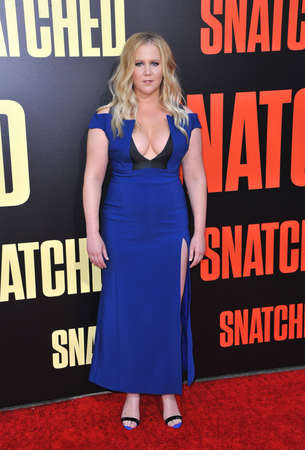 snatched: Amy Schumer at the Los Angeles premiere of Snatched held at the Regency Village Theatre in Westwood, USA on May 10, 2017.