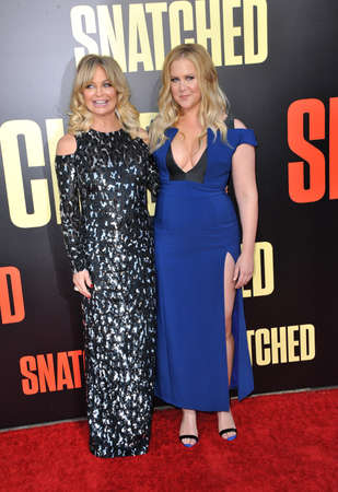 snatched: Goldie Hawn and Amy Schumer at the Los Angeles premiere of Snatched held at the Regency Village Theatre in Westwood, USA on May 10, 2017.