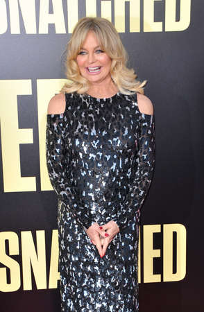 snatched: Goldie Hawn at the Los Angeles premiere of Snatched held at the Regency Village Theatre in Westwood, USA on May 10, 2017.