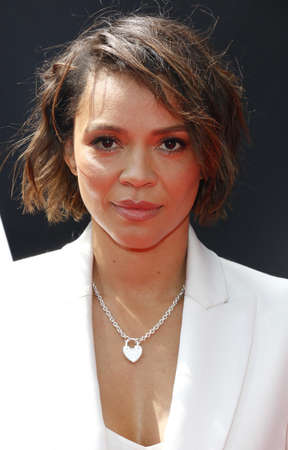 Carmen Ejogo at the Los Angeles special screening of 'Alien: Covenant' held at the TCL Chinese Theatre IMAX in Hollywood, USA on May 17, 2017. Stock Photo - 78300688