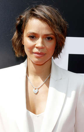 Carmen Ejogo at the Los Angeles special screening of Alien: Covenant held at the TCL Chinese Theatre IMAX in Hollywood, USA on May 17, 2017.
