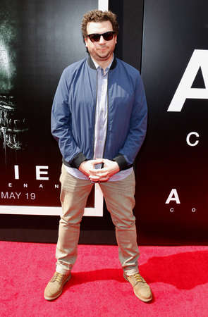 Danny McBride at the Los Angeles special screening of Alien: Covenant held at the TCL Chinese Theatre IMAX in Hollywood, USA on May 17, 2017.