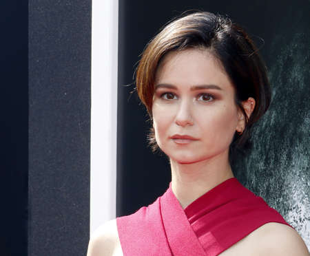 Katherine Waterston at the Los Angeles special screening of Alien: Covenant held at the TCL Chinese Theatre IMAX in Hollywood, USA on May 17, 2017.