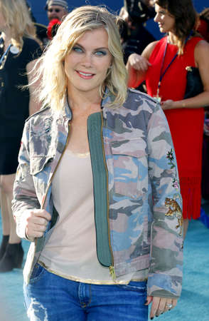 alison: Alison Sweeney at the U.S. premiere of Pirates Of The Caribbean: Dead Men Tell No Tales held at the Dolby Theatre in Hollywood, USA on May 18, 2017.