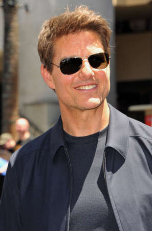 Tom Cruise at Universal Celebrates Editorial
