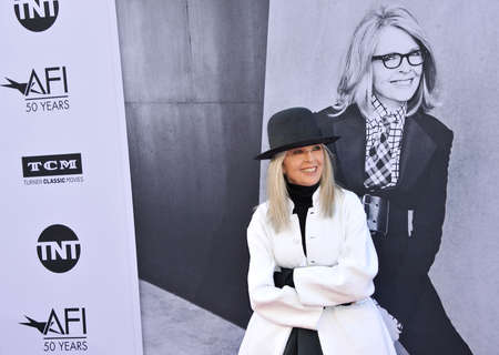 dolby: Diane Keaton at the AFI Life Achievement Award Gala Tribute To Diane Keaton held at the Dolby Theatre in Hollywood, USA on June 8, 2017. Editorial