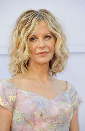 dolby: Meg Ryan at the AFI Life Achievement Award Gala Tribute To Diane Keaton held at the Dolby Theatre in Hollywood, USA on June 8, 2017.