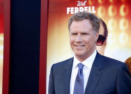 Will Ferrell at the Los Angeles premiere of The House held at the TCL Chinese Theatre in Hollywood, USA on June 26, 2017. Editorial