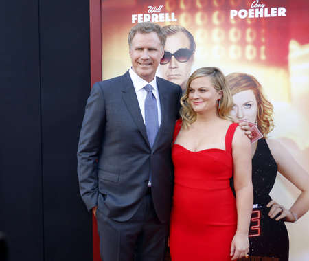 Will Ferrell and Amy Poehler at the Los Angeles premiere of The House held at the TCL Chinese Theatre in Hollywood, USA on June 26, 2017.