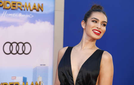 Ashley Iaconetti at the World premiere of Spider-Man: Homecoming held at the TCL Chinese Theatre in Hollywood, USA on June 28, 2017. Editorial