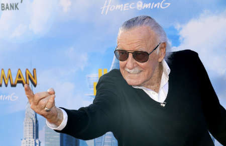 Stan Lee at the World premiere of 'Spider-Man: Homecoming' held at the TCL Chinese Theatre in Hollywood, USA on June 28, 2017.