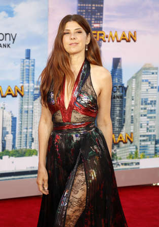 Marisa Tomei at the World premiere of Spider-Man: Homecoming held at the TCL Chinese Theatre in Hollywood, USA on June 28, 2017. Editorial