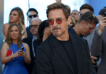 Robert Downey Jr. at the World premiere of Spider-Man: Homecoming held at the TCL Chinese Theatre in Hollywood, USA on June 28, 2017.
