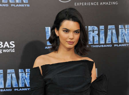 Kendall Jenner at the World premiere of 'Valerian And The City Of A Thousand Planets' held at the TCL Chinese Theatre in Hollywood, USA on July 17, 2017. Redactioneel