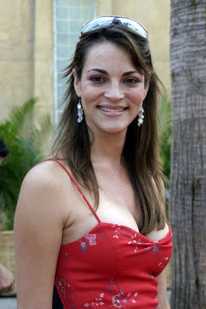 Carolina Bacardi at the 8th Los Angeles Latino International Film Festival held at the Egyptian Theater in Hollywood, California, United States on July 16, 2004.