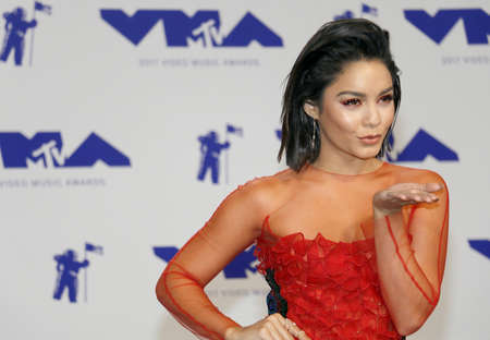 Vanessa Hudgens at the 2017 MTV Video Music Awards held at the Forum in Inglewood, USA on August 27, 2017.
