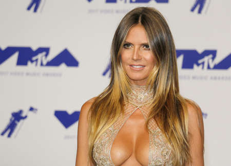Heidi Klum at the 2017 MTV Video Music Awards held at the Forum in Inglewood, USA on August 27, 2017. Editorial