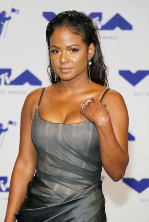 Christina Milian at the 2017 MTV Video Music Awards held at the Forum in Inglewood, USA on August 27, 2017. Editorial