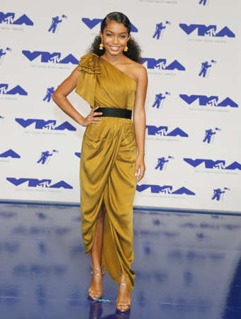 Yara Shahidi at the 2017 MTV Video Music Awards held at the Forum in Inglewood, USA on August 27, 2017.