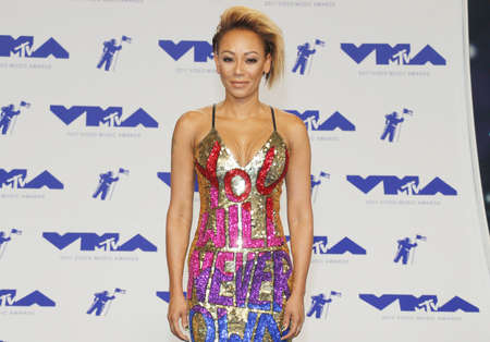 Mel B at the 2017 MTV Video Music Awards held at the Forum in Inglewood, USA on August 27, 2017.