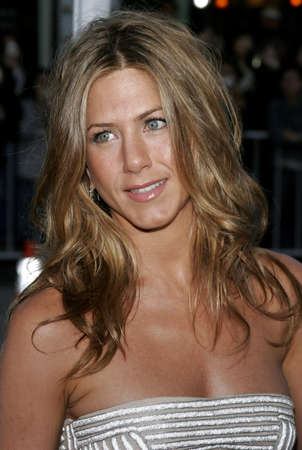 Jennifer Aniston at the Los Angeles premiere of The Break-Up held at the Mann Village Theatre in Westwood, USA on May 22, 2006.