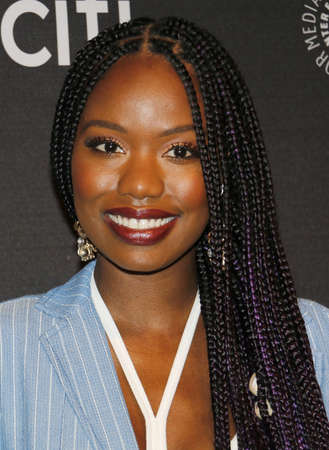 Xosha Roquemore at the 11th Annual PaleyFest Fall TV Previews - Hulus The Mindy Project held at the Paley Center for Media in Beverly Hills, USA on September 8, 2017.