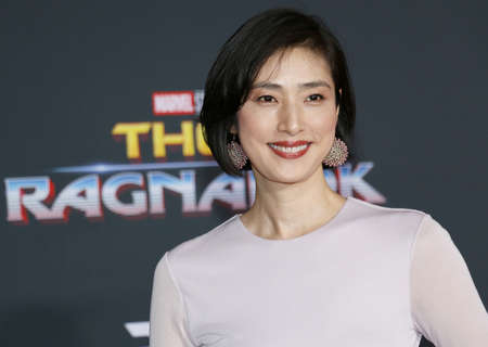 Yuki Amami at the World premiere of Thor: Ragnarok held at the El Capitan Theatre in Hollywood, USA on October 10, 2017. Editorial