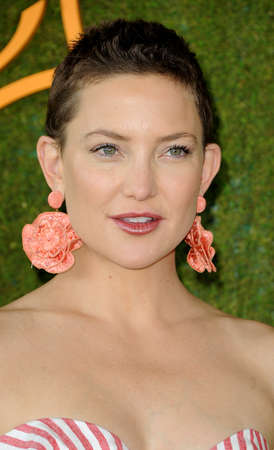 Kate Hudson at the 8th Annual Veuve Clicquot Polo Classic held at the Will Rogers State Historic Park in Pacific Palisades, USA on October 14, 2017.