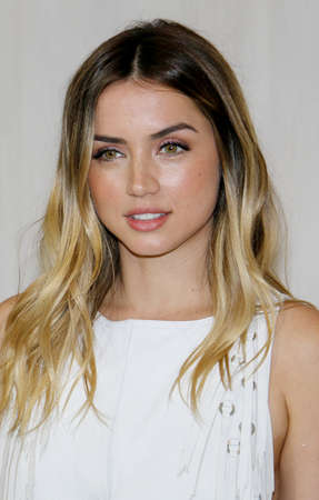 Ana de Armas at the Hammer Museum Gala In The Garden held at the Hammer Museum in Westwood, USA on October 14, 2017. Editorial