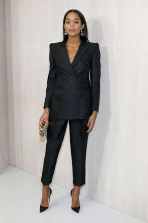 Laura Harrier at the Hammer Museum Gala In The Garden held at the Hammer Museum in Westwood, USA on October 14, 2017. Editorial