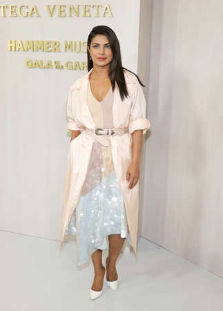 Priyanka Chopra at the Hammer Museum Gala In The Garden held at the Hammer Museum in Westwood, USA on October 14, 2017.