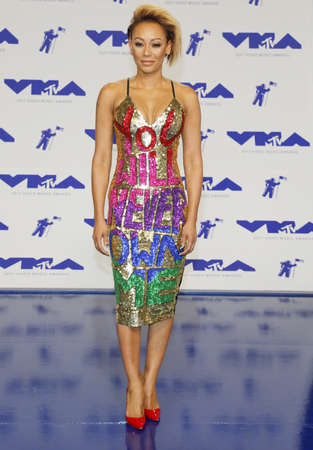 Mel B at the 2017 MTV Video Music Awards held at the Forum in Inglewood, USA on August 27, 2017. Editorial