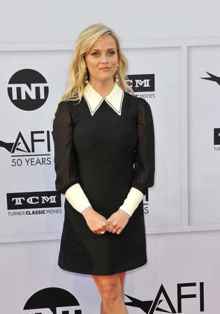 Reese Witherspoon at the AFI Life Achievement Award Gala Tribute To Diane Keaton held at the Dolby Theatre in Hollywood, USA on June 8, 2017. Editorial