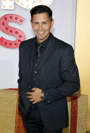 Jay Hernandez at the Los Angeles premiere of A Bad Moms Christmas held at the Regency Village Theatre in Westwood, USA on October 30, 2017.