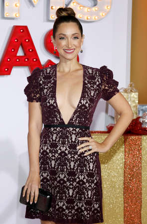 Jamie Lee at the Los Angeles premiere of A Bad Moms Christmas held at the Regency Village Theatre in Westwood, USA on October 30, 2017.