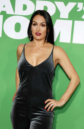 Nikki Bella at the Los Angeles premiere of Daddys Home 2 held at the Regency Village Theatre in Westwood, USA on November 5, 2017.