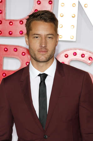 Justin Hartley at the Los Angeles premiere of A Bad Moms Christmas held at the Regency Village Theatre in Westwood, USA on October 30, 2017.