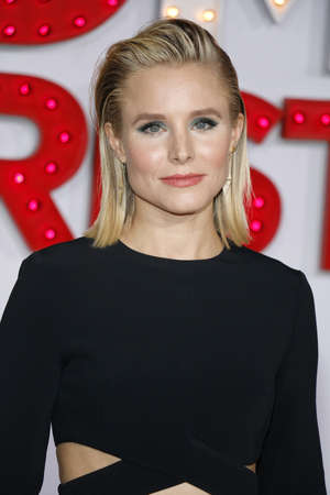 Kristen Bell at the Los Angeles premiere of A Bad Moms Christmas held at the Regency Village Theatre in Westwood, USA on October 30, 2017. Editorial