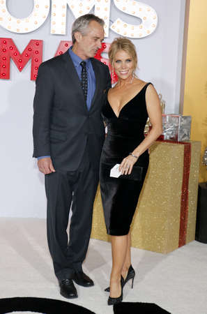 Robert F. Kennedy Jr. and Cheryl Hines at the Los Angeles premiere of A Bad Moms Christmas held at the Regency Village Theatre in Westwood, USA on October 30, 2017.