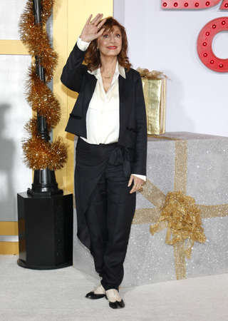 Susan Sarandon at the Los Angeles premiere of A Bad Moms Christmas held at the Regency Village Theatre in Westwood, USA on October 30, 2017. Editorial