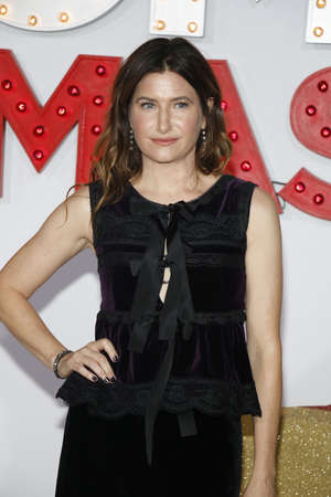 Kathryn Hahn at the Los Angeles premiere of A Bad Moms Christmas held at the Regency Village Theatre in Westwood, USA on October 30, 2017. Editorial