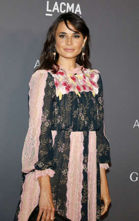 Mia Maestro at the 2017 LACMA Art + Film Gala held at the LACMA in Los Angeles, USA on November 4, 2017. Editorial