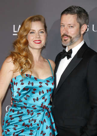 Amy Adams and Darren Le Gallo at the 2017 LACMA Art + Film Gala held at the LACMA in Los Angeles, USA on November 4, 2017.