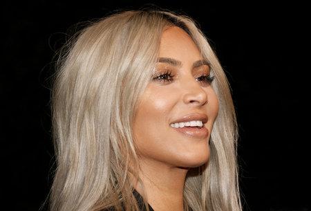 キム・カーダシアンは、2017年11月4日に米国ロサンゼルスのラクで開催された2017ラクアート + 映画の祭典において行われました。