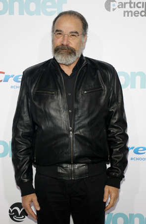 Mandy Patinkin at the Los Angeles premiere of Wonder held at the Regency Village Theatre in Westwood, USA on November 14, 2017.