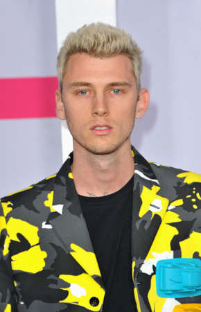 Machine Gun Kelly at the 2017 American Music Awards held at the Microsoft Theater in Los Angeles, USA on November 19, 2017. Editorial