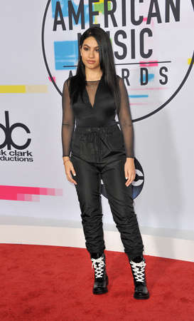 Alessia Cara at the 2017 American Music Awards held at the Microsoft Theater in Los Angeles, USA on November 19, 2017.