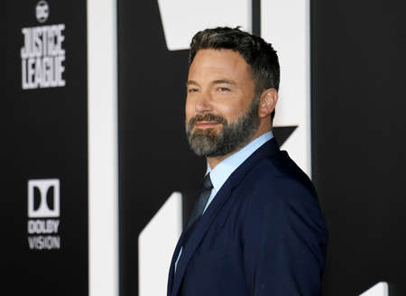 Ben Affleck at the World premiere of 'Justice League' held at the Dolby Theatre in Hollywood, USA on November 13, 2017.